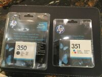 Hp 350 and 351 ink cartridges