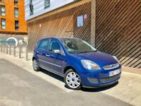 2007 FORD FIESTA 1.6L AUTOMATIC 5 DOORS NEW MOT LOW MILES FULL AUTO NOT CORSA POLO GOLF FOCUS YARIS