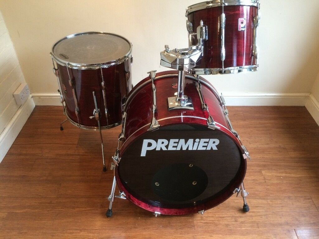 Wokingham Drum Sales (Premier Specialists) - early 90's Premier XPK in Rosewood Lacquer