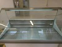 Fridge display counter / cabinet