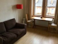 One bed tenement flat to rent in Apsley St G11 - fully furnished, centrally located
