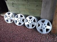 "4 15"" alloy wheels 15"" Toyota MR2"