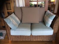 Holloway's conservatory sofa, chair and footstool