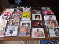 Job lot of 42 VHS VCR Tapes some are double Tapes some are collectables