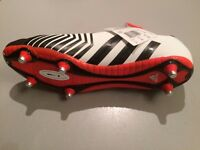 BRAND New still labelled Rugby boots - Adidas - UK size 11.5