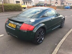 04 AUDI TT - 180BHP QUATTRO 6 SPEED - RARE GREEN COLOUR - FUTURE CLASSIC - FINE EXAMPLE - MOTED