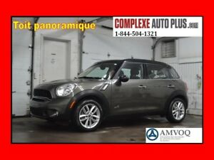 2014 Mini Cooper Countryman S ALL4 AWD *Cuir,Toit pano.