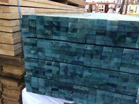 Blue Roof Battens 25mm x 50mm x 2.4m BS5534 Construction Grade Treated Bundles of 10