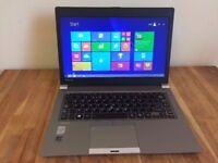 VERY FAST Toshiba Portege Z30 - i5 4200U 4th Gen - 8GB - 128GB SSD - Laptop PC