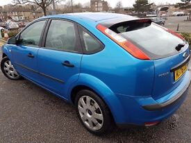2006 ford focus with mot,tax,insurance.new cambelt,remote key,not vw vauxhall honda bmw audi renault