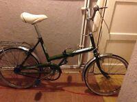 Raliegh folding bike