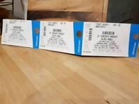 3 x Black rebel barrowlands tickets glasgow