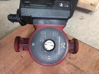 Grunfos type UPS2 25-80 180 pump