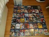 Boxed Silver PS2 slim + 48 playstation 2 games nice bundle