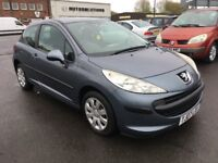 2007 Peugeot 207 1.4 , mot - May 2018, only 34,000 miles,service history ,focus,astra,golf,megane