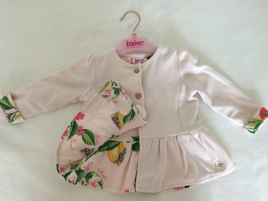 696ade983 Baby Baker by Ted Baker girls jacket - 9-12 months