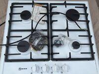 Neff T22S36W0 60cm 4 Burner Gas Hob - In White brand new