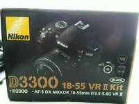 Nikon D3300 with accessories