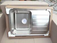 IKEA Stainless Steel Kitchen Sink -brand new