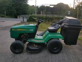 Rally ride on mower tractor lawnmower