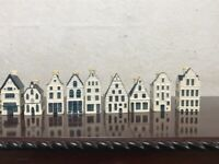 SOLD SOLD SOLD KLM BoLS Blue delfts Amdterdam houses collectibles from smoke&pet free home SOLD