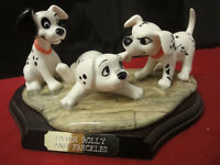 Royal Doulton 101 Dalmations Patch Rolly and Freckles makesr box & certifate