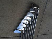 Wilson Staff Tour Blades Irons Golf Clubs FG-49 3-PW Very Good Condition Mizuno Titleist Taylormade