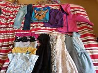 A bundle of girls clothes 3-4 all together there is seventeen pieces. 20.00