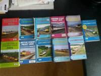 British railways, locomotives, train pocket books