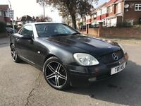 1999 Mercedes-Benz SLK 2.3 Kompressor 2dr Auto Convertible 12Months New Mot Very Tidy Car Must See