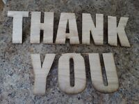 """Wedding """"Thank you"""" sign for sale"""