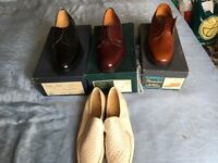 Brand new all leather Loake shoes