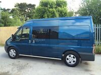 Ford transit side windows