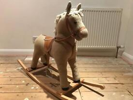 Children's small rocking horse