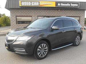 2014 Acura MDX SH-AWD 6-Spd AT w/Tech Package Peterborough Peterborough Area image 1