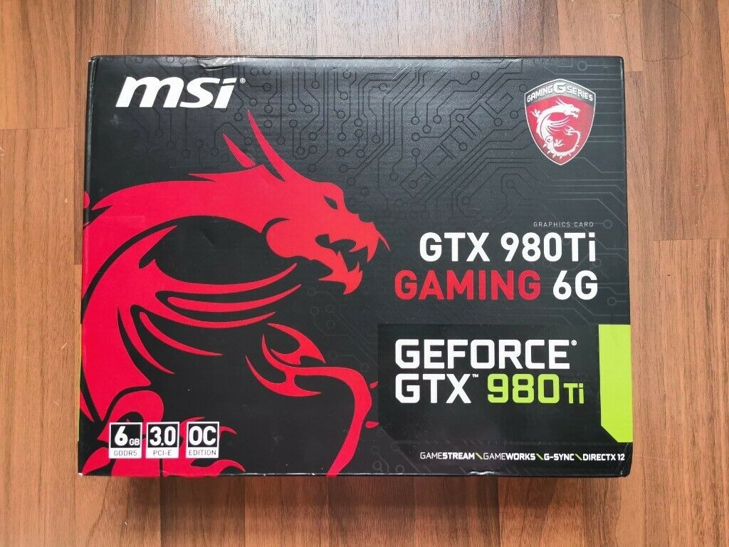 MSI GeForce GTX 980 Ti GAMING | 980Ti | in Islington, London | Gumtree