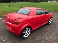 vauxhall tigra exclusiv 56 plate service history low mileage