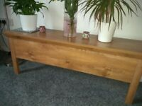 oak effect coffee table storage chest for sale  Clifton, Manchester