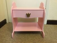 Lovely Girls Bedside Table with drawer (from Great Little Trading Co furniture) £8