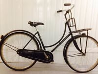 BSP Omafiets Complete original Condition, Rack, Chain cover, SERVICED