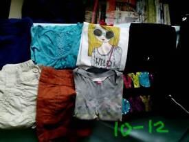 Girls clothes bundle Age 10-12 £1.