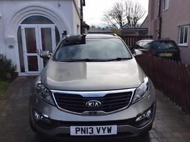 Excellent Kia Sportage, automatic, very low mileage