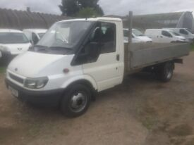 FORD TRANSIT LORRY ALLOY DROP SIDE 2002 NO VAT