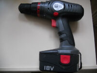 PERFORMANCE POWER 18v DRILL/DRIVER NLE18AMC----NO CHARGER