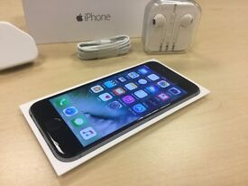 Boxed Space Grey Apple iPhone 6 64GB On Vodafone / Lebara Networks Mobile Phone + Warranty
