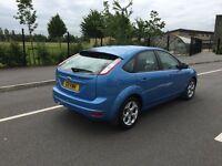 Ford Focus 1.6 Sport - Full S/H, Long MOT, very good spec including sat nav & bluetooth.
