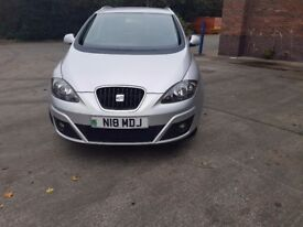 2012 Seat Altea XL 1.6 CRDI. £30 per year road tax