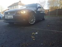 2006 BMW 320d (163bhp) touring, manual, blue, low milleage