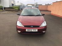 2002 Ford Focus Zetec 1.6 Automatic 61k MOT Feb 2018