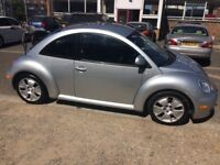 VW Beetle Sport V5 - High mileage car with marks on bodywork, but still drives well.
